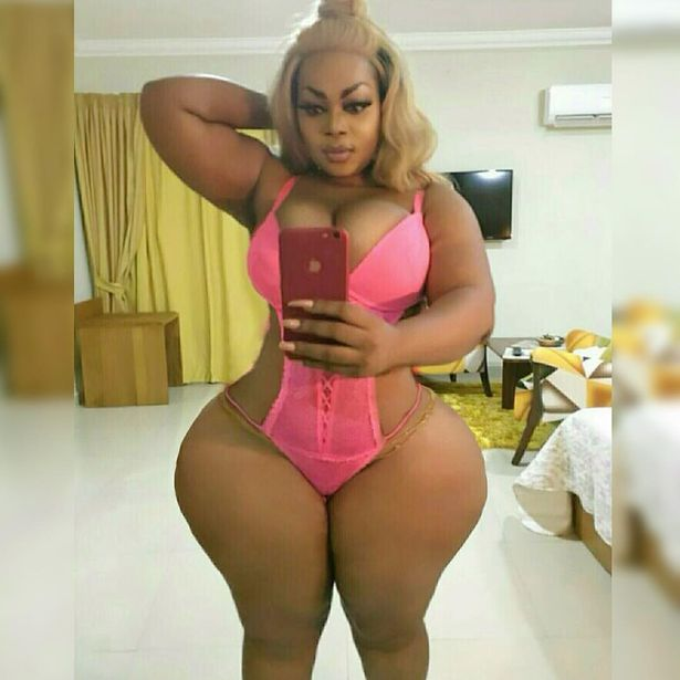 Thick sexy africa women
