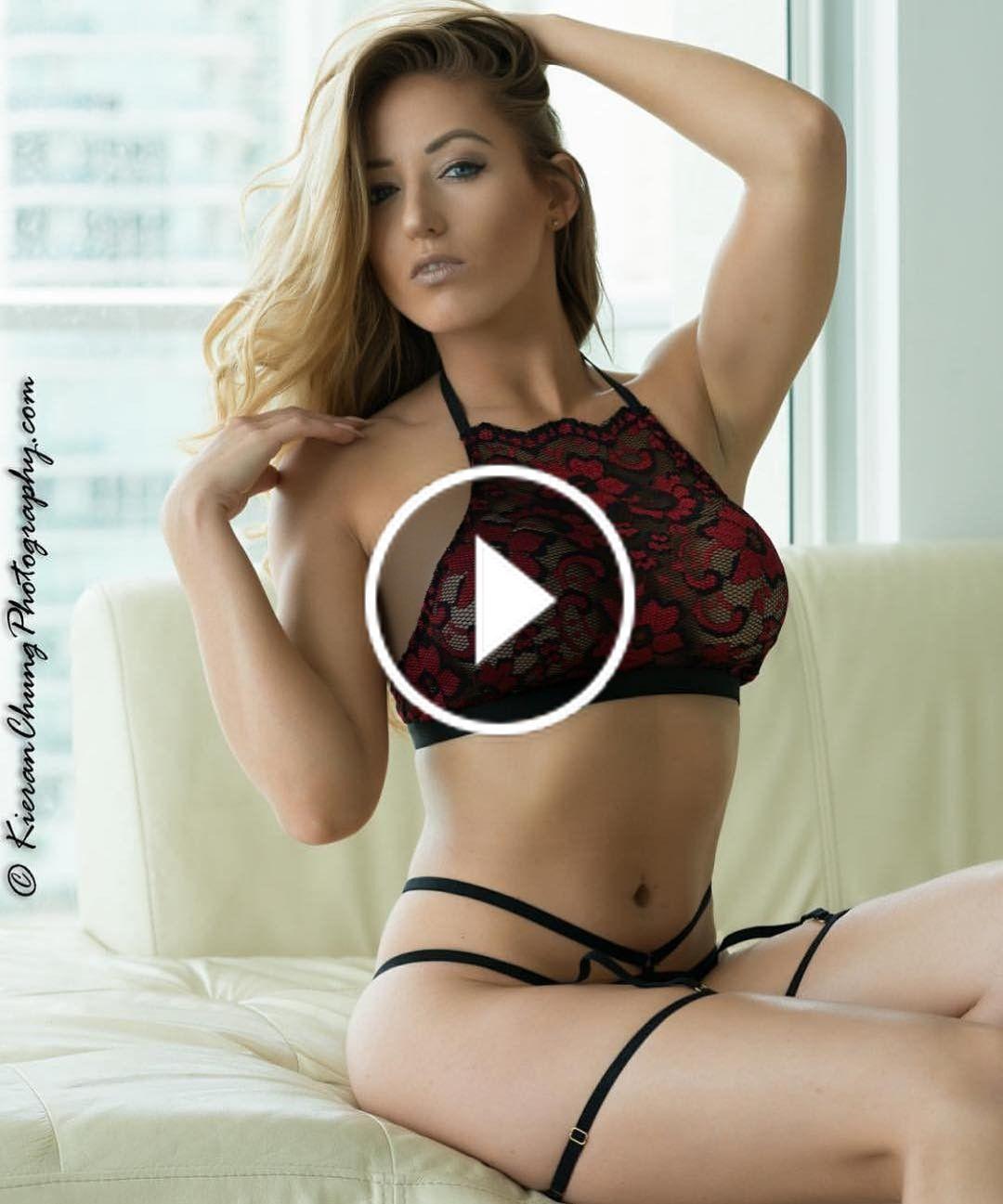Hottie nude model video