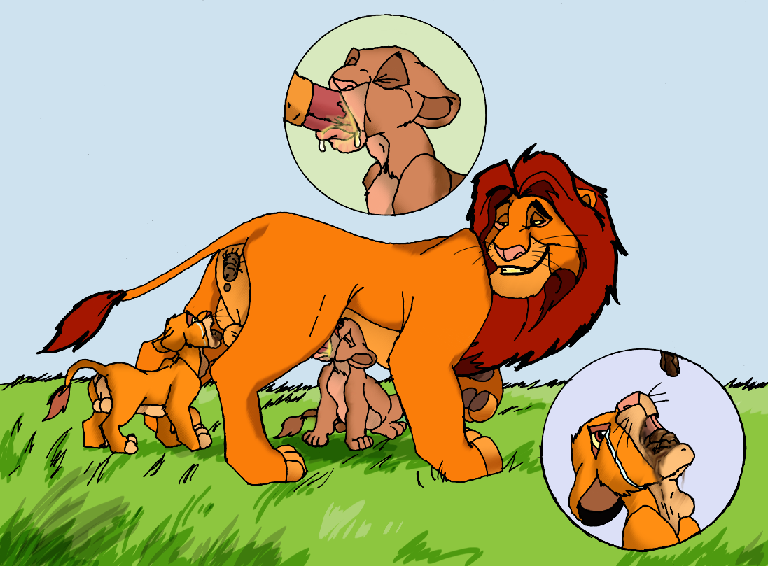 Cartoon lion king porn