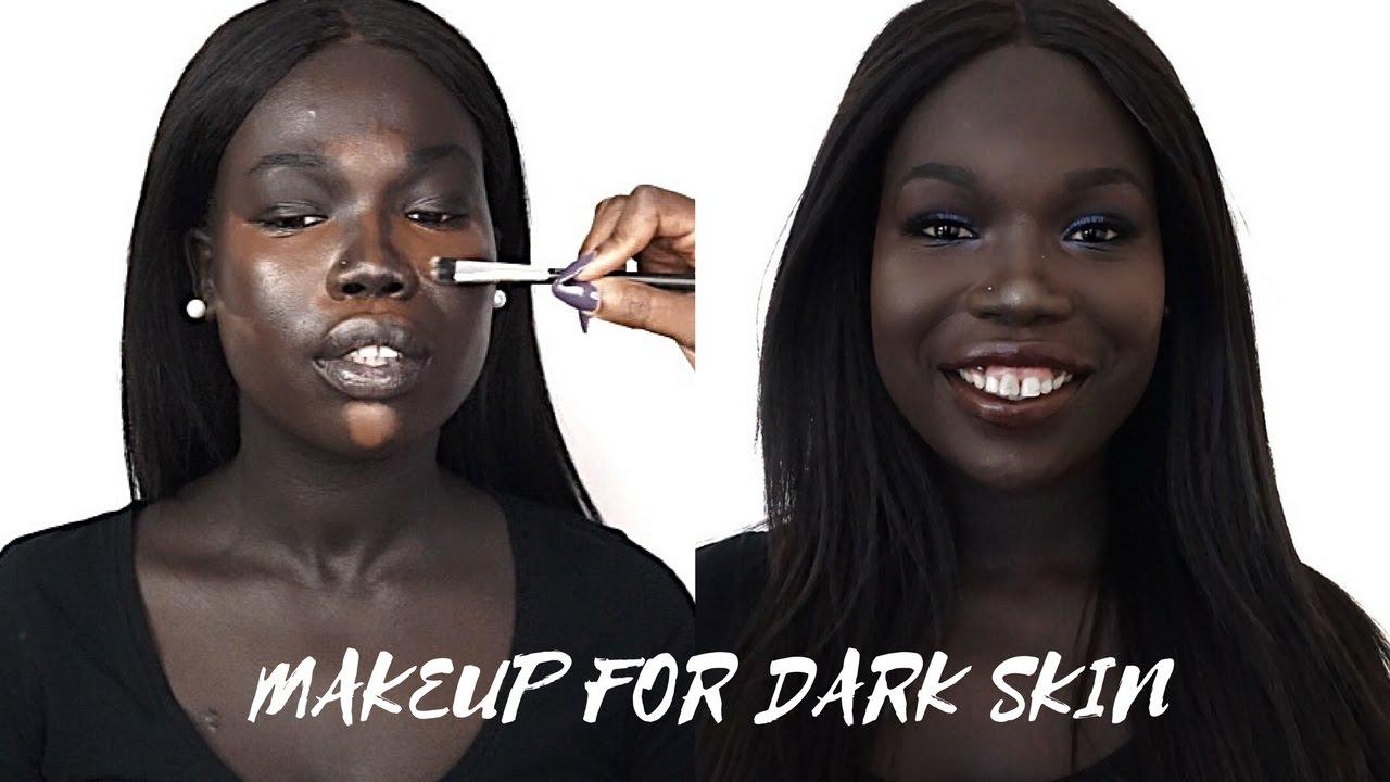 Dark skinned black women ass