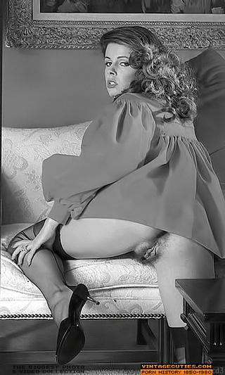 Brunette nude vintage porn