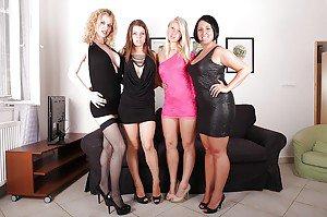 Beautiful girls in nude
