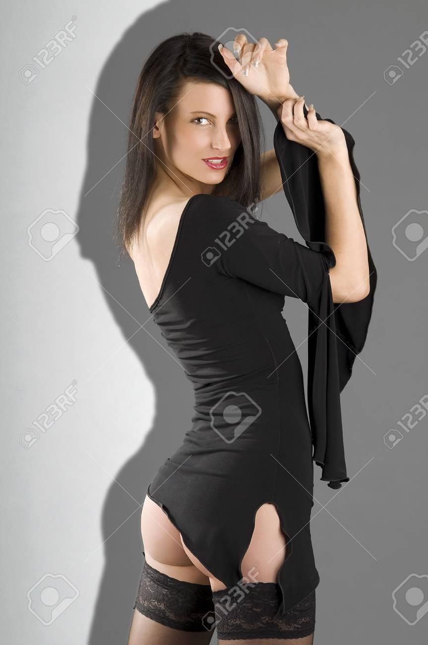 Amazing amateur brunette ass