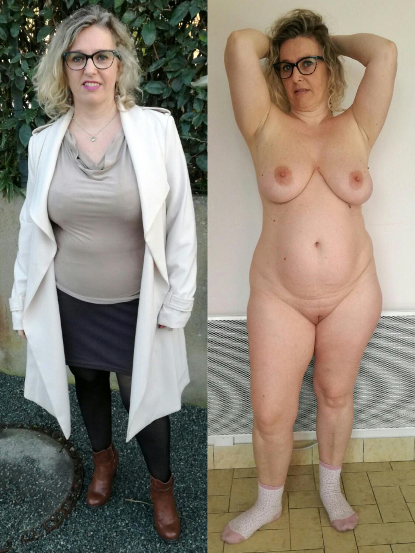 Bbw matures dressed and undressed pics