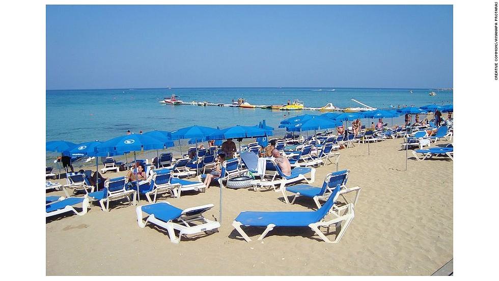 Girls of golden beach cyprus nude