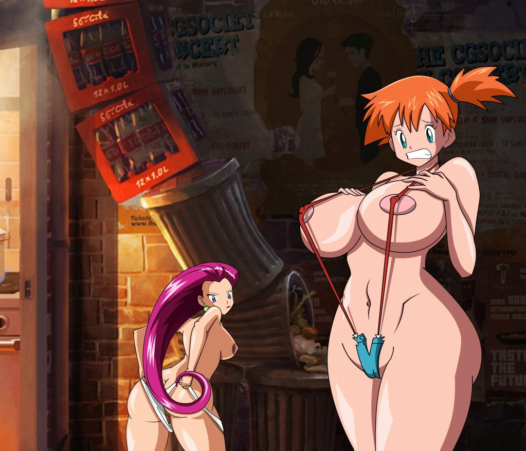 Sexy hot gigantic huge pokemon boobs