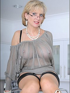 See thru blouse xxx