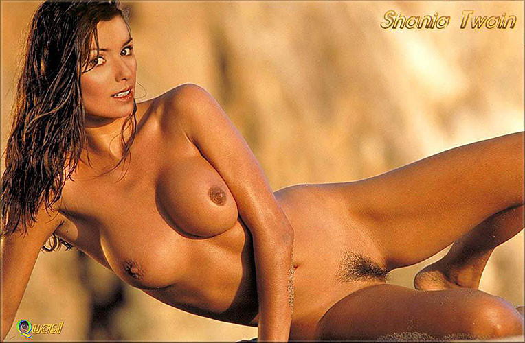Shania twain showing her pussy