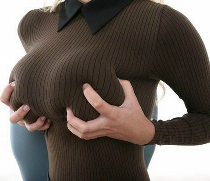 Teen girls tight sweaters