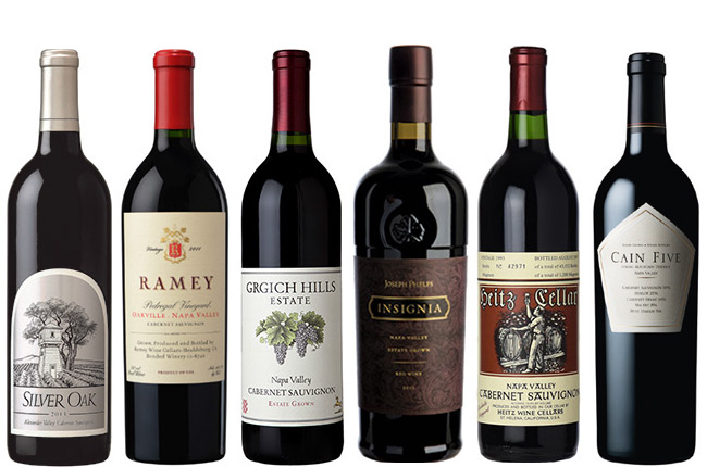 Best california cabernet vintage