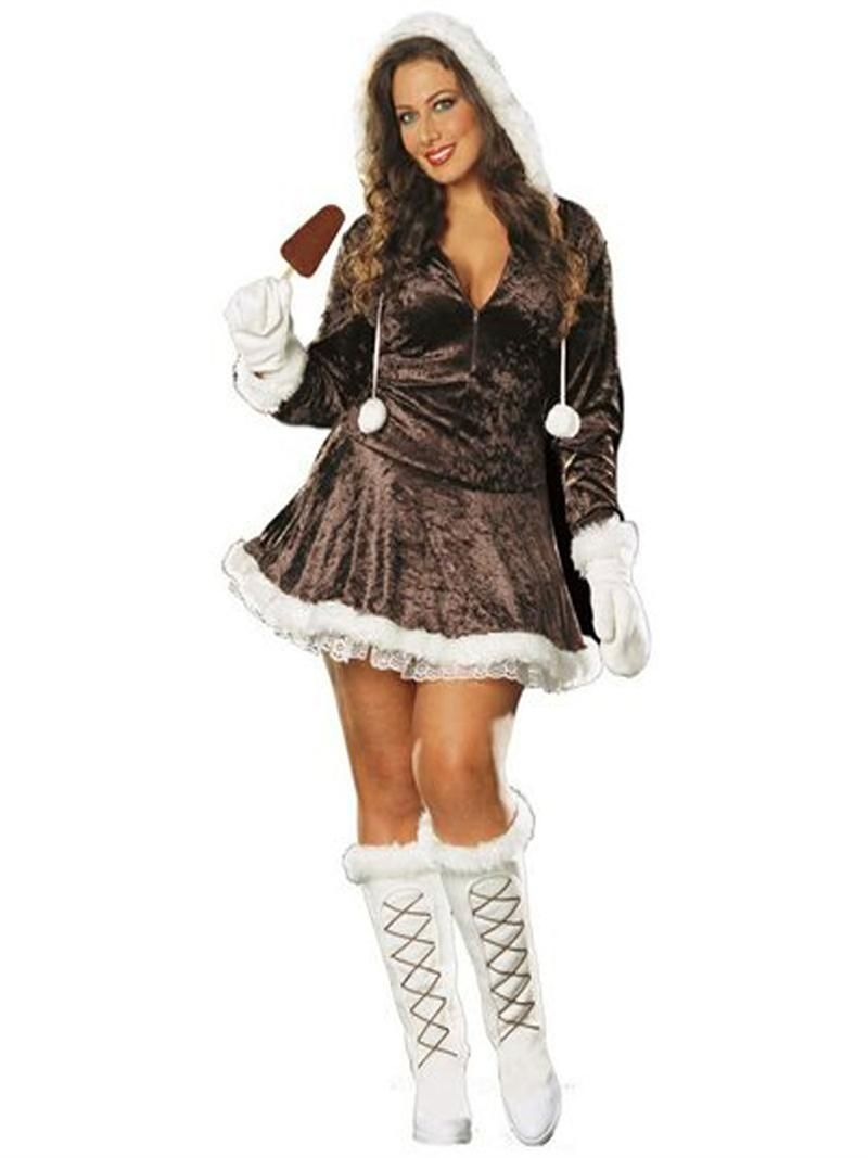 Eskimo halloween costume plus size