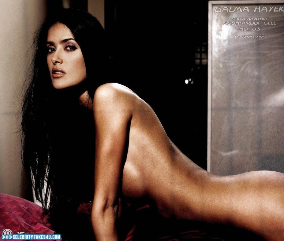 Salma hayek nude celebrities