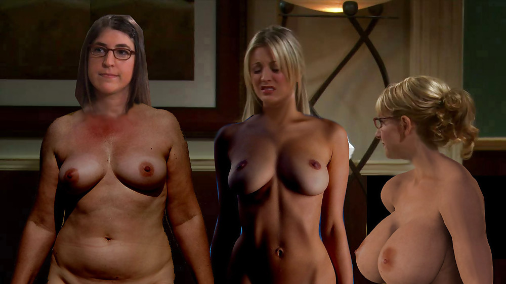 Big bang theory actress nude
