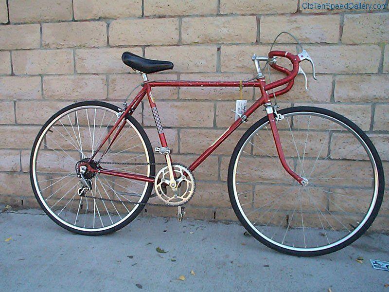 Vintage schwinn ten speed bicycles