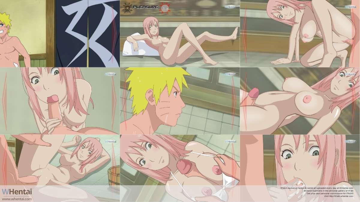 Naruto sakura bath nackt