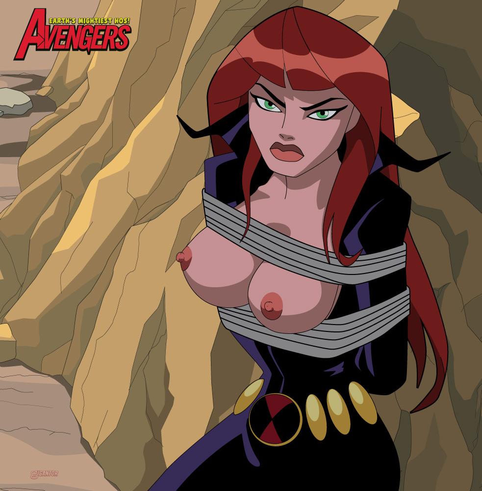 Black widow avengers hentai porn