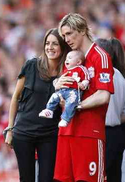 Fernando torres and wife