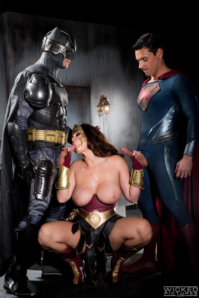 Batman and wonder woman porn pics