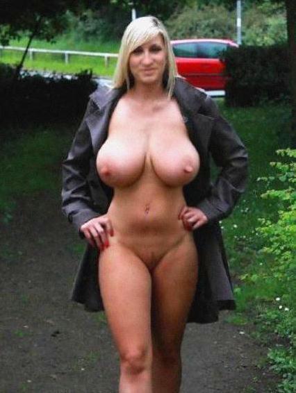 Big boob has mom