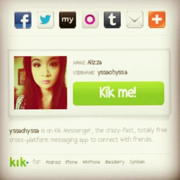 Kik usernames girl name