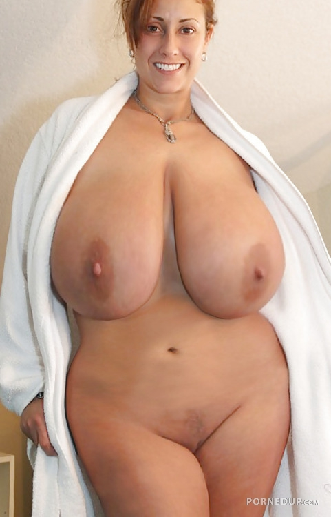 Chubby mom with big tits