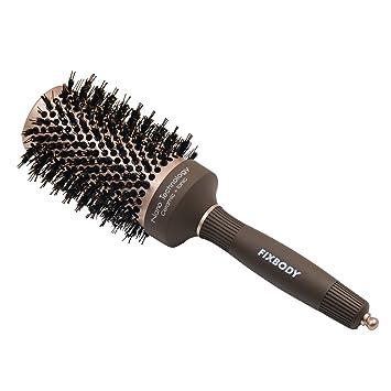 Teen self shot hair brush