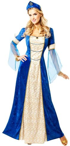 Adult renaissance royalty princess costume