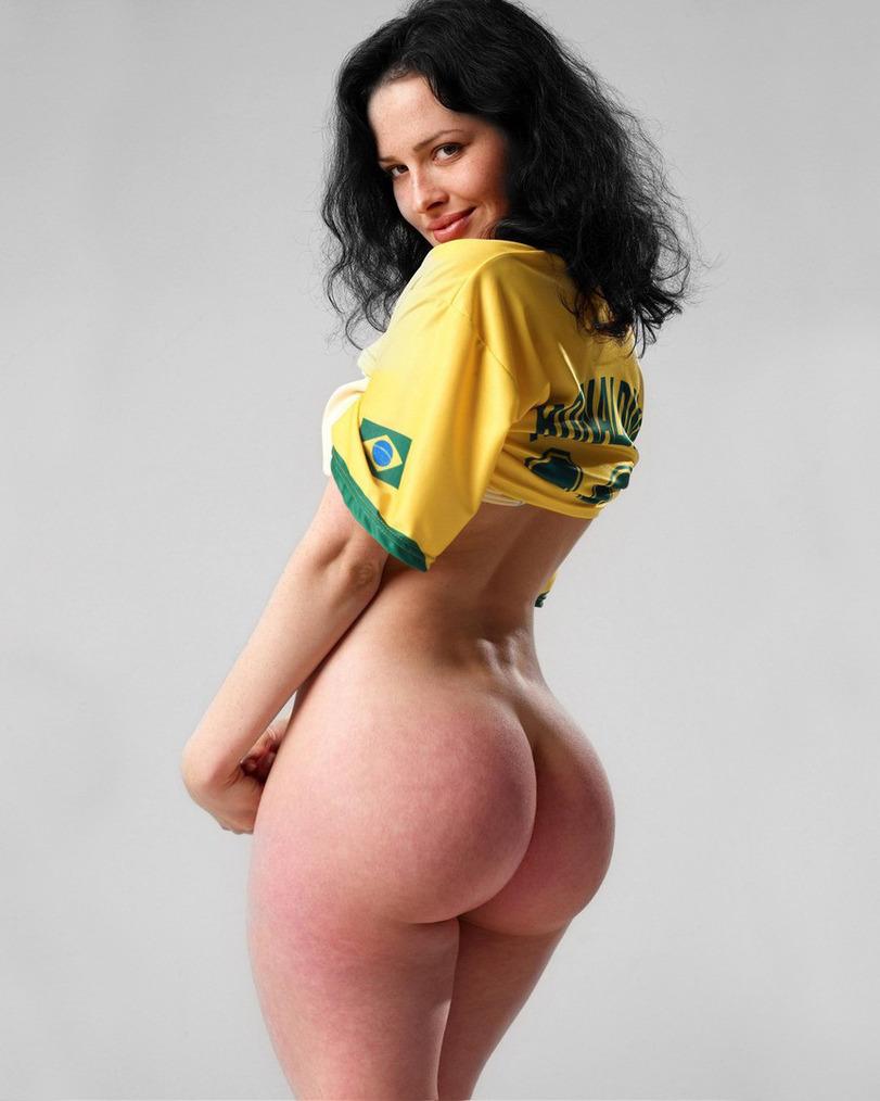 Naked big hips sexy girl