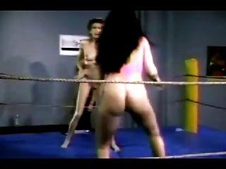 Vintage lesbian wrestling porn