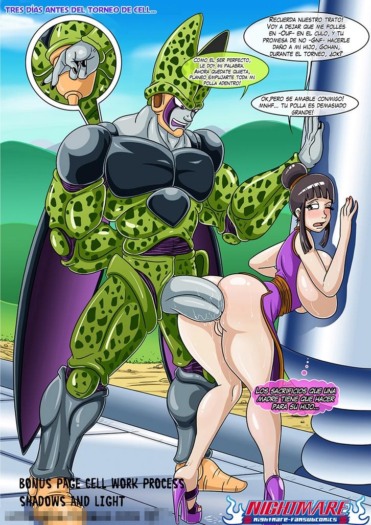 Dragon ballporno trons y su madre