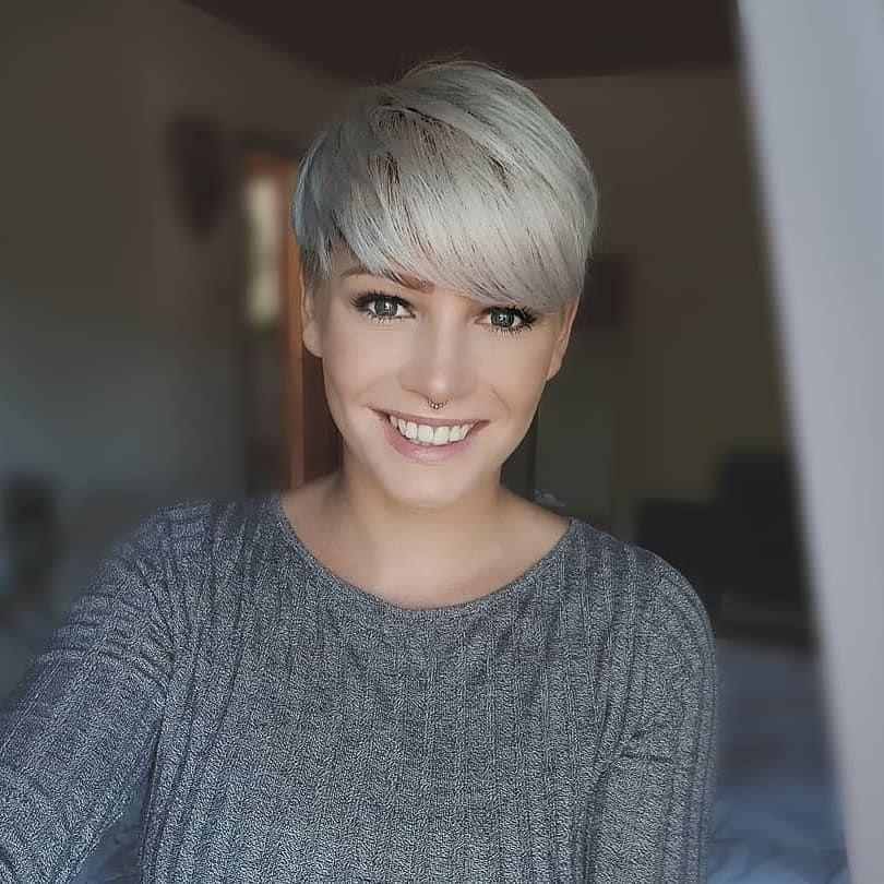 Short hair nubile teen