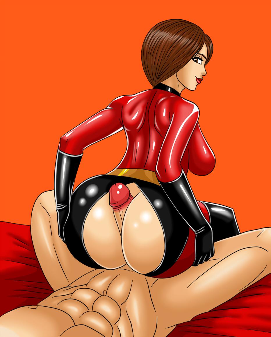 Incredibles big butt mom cartoon porn