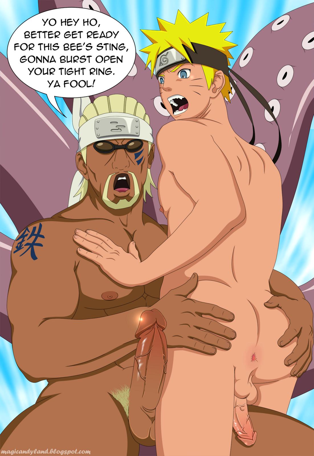 Yaoi de naruto sexo
