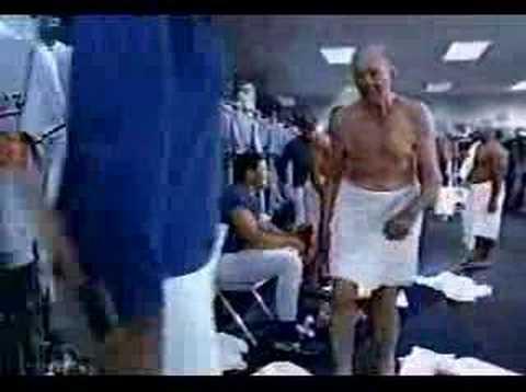 Old men locker room