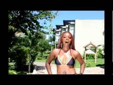Miss black nude video