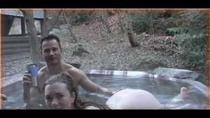 Big boob hot tub sex