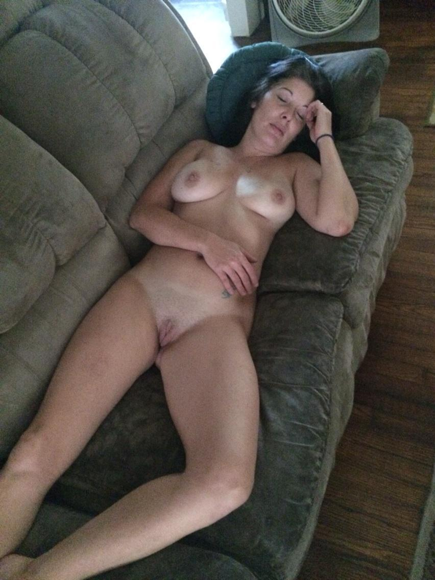 Caught in bed naked