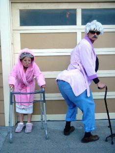 Sexy grandma and grandpa
