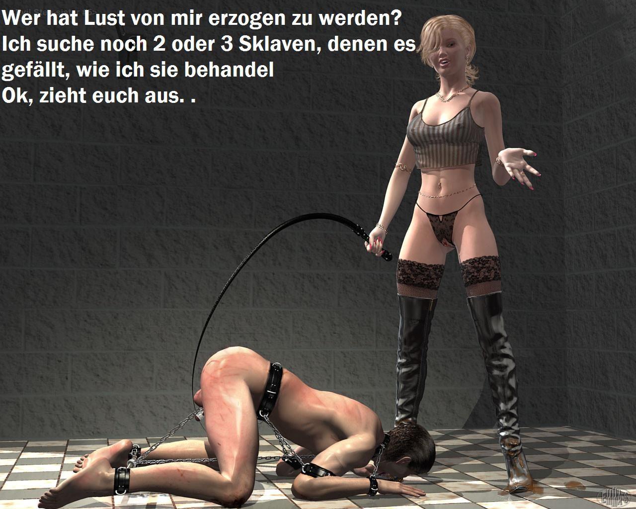 German femdom captions