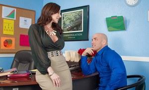 Teal conrad naughty office