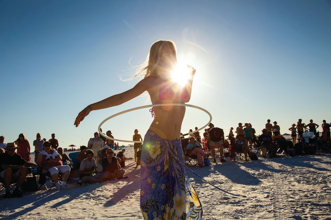 Siesta key florida beach girls