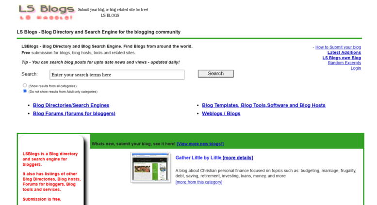 Free adult search engins