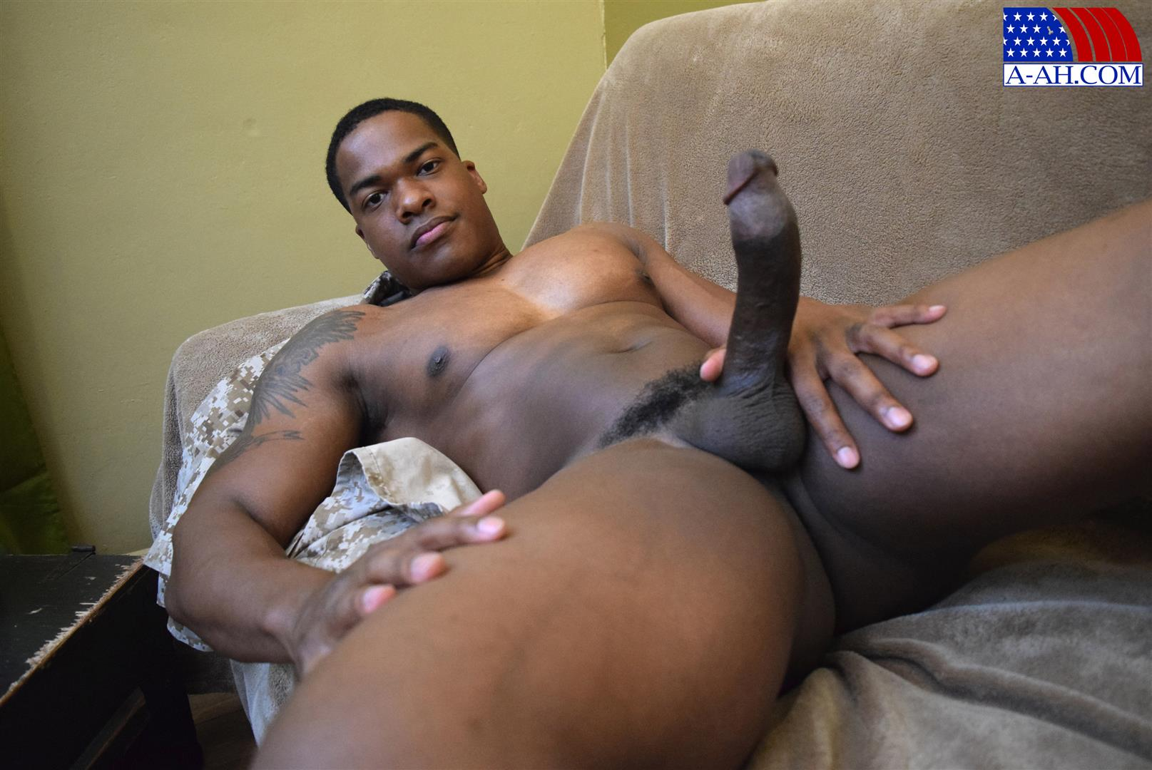 Porn video big black american