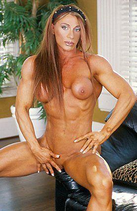 Hot naked women bodybuilder