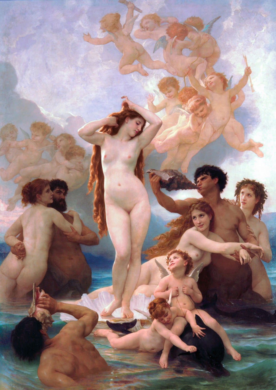 Greek goddess aphrodite nude
