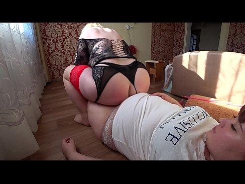 Mature big tits milf stockings