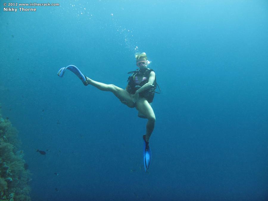 Nikky thorne underwater nude