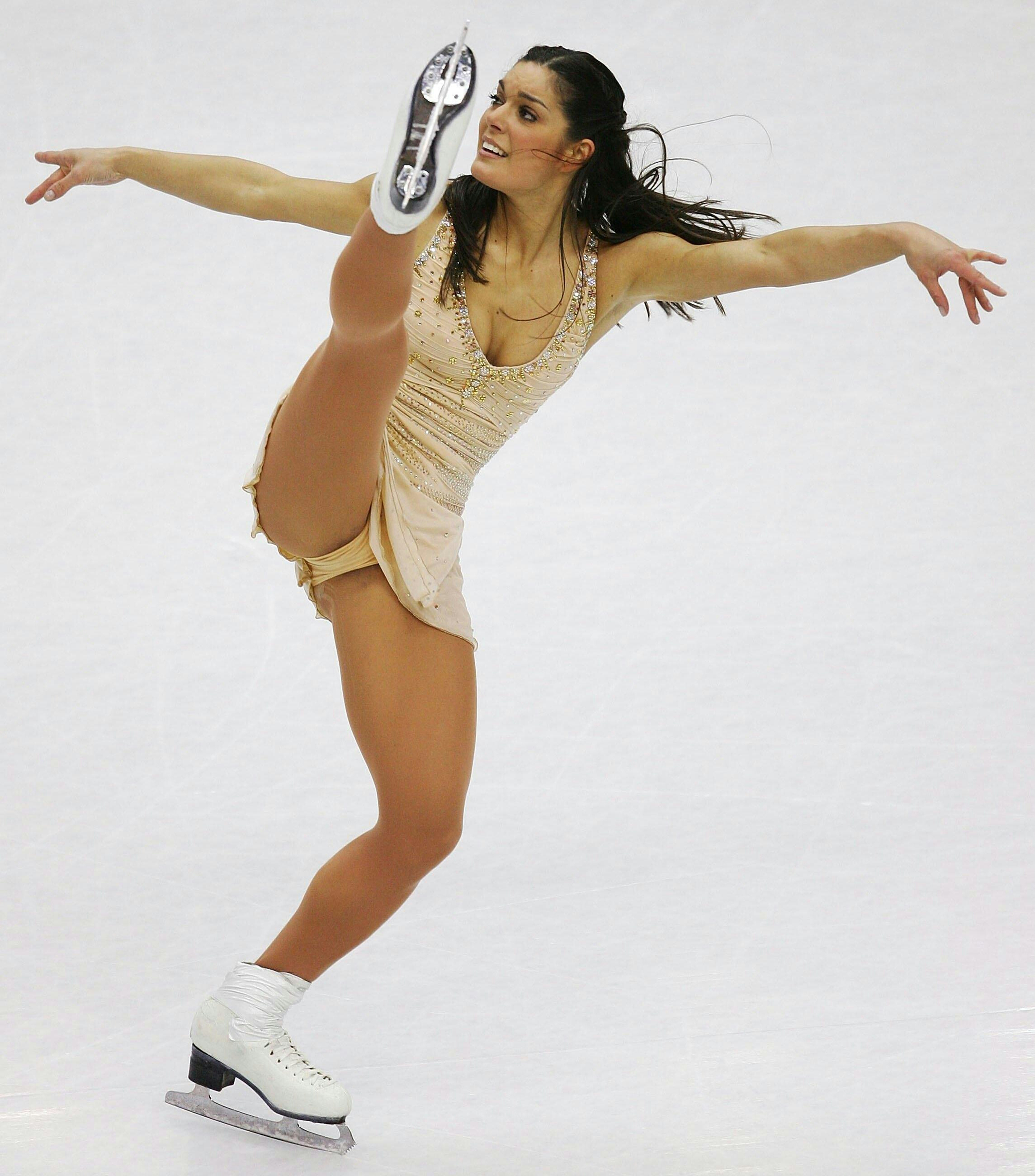 Nude skating ice girls