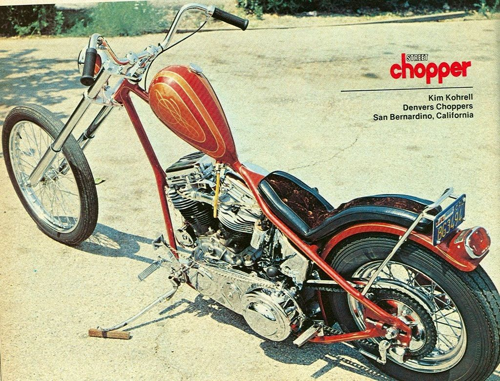 Vintage nhl chopper bike photos