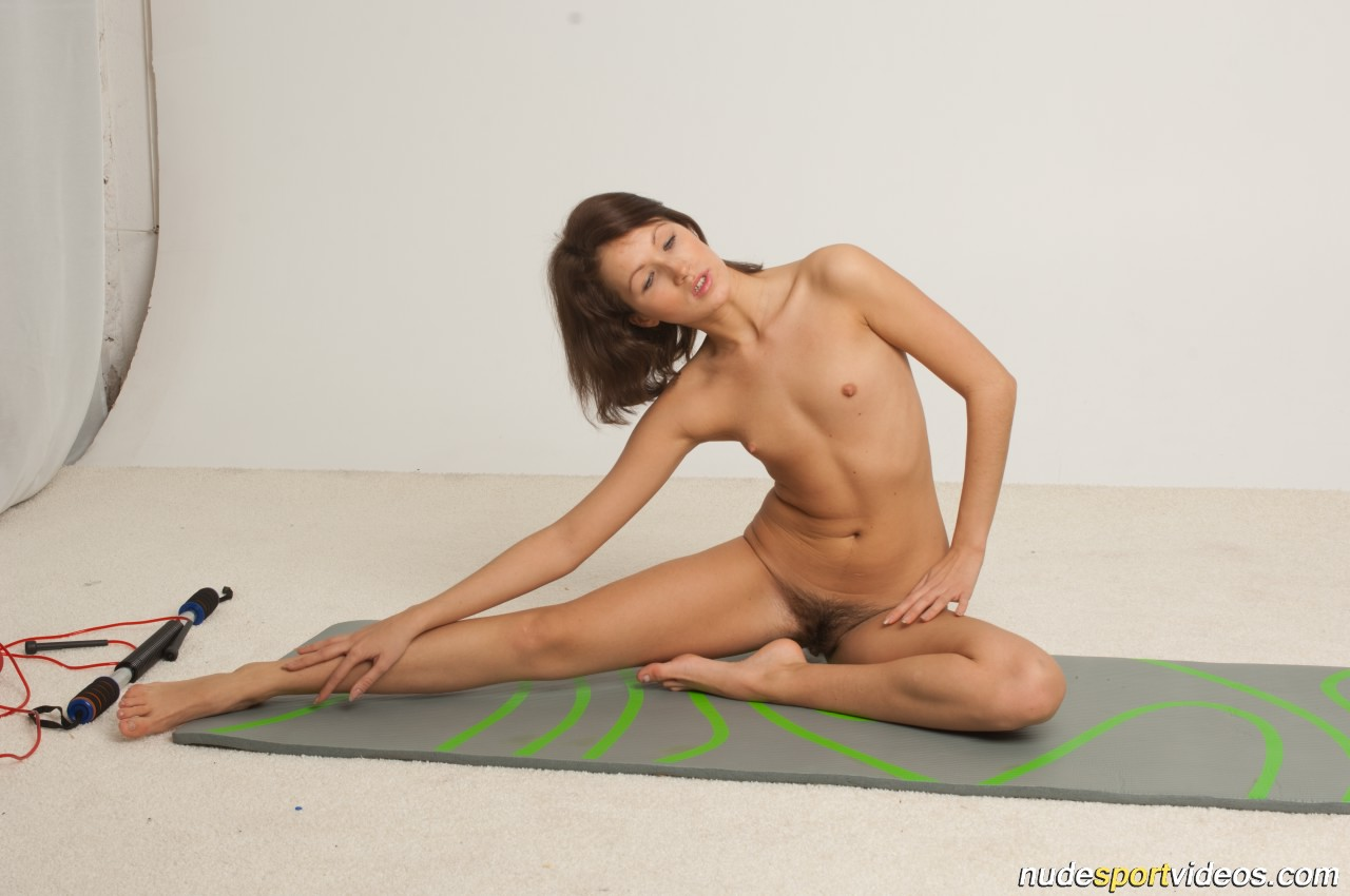 Nude gymnastics hairy pussy